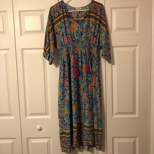 Umgee Large Floral Dress